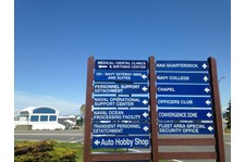 - Architectural Signage - Wayfinding Signage - Naval Hospital Oak Harbor - Oak Harbor, WA