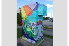 - Image360-Ft. Lauderdale - Utility Box Wraps - Alligator