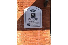 Wall Sign for Marietta Wealth Marietta GA